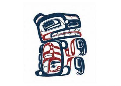 CLES Haida Bear painting