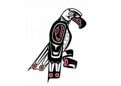 CLES Haida Eagle Painting 2