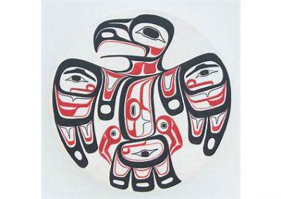 CLES Haida Eagle Painting